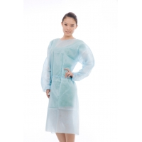 Quality Odorless Waterproof Disposable Nonwoven Isolation Gown for sale