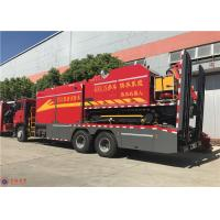 Quality RPM 1900R/Min 294kw Fire Fighting Truck HOWO Chassis Euro 4 Emission Standard for sale
