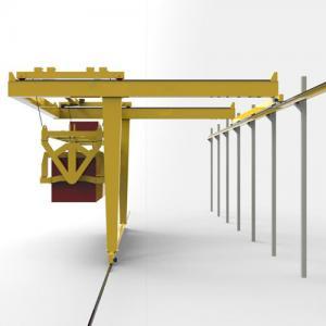 Quality MH Type Semi Single Girder Crane , Overhead Travelling Crane Custom Color for sale