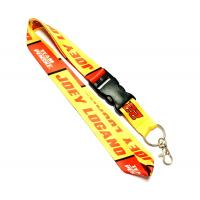 China Trol Shell Trademark Dye Sublimation Lanyards With Easily Match Color , Polyester Material on sale