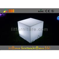 Buy cheap Waterproof Colorful LED Cube Chair And Table For Night Clubs And Party from wholesalers