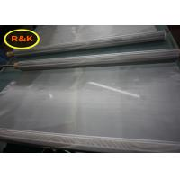 Stainless Steel Screen Printing Mesh Roll With 1.22 M Width Plain Weave