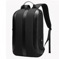 Quality Black Travel USB Charging Oxford Cloth Office  Waterproof Laptop Bag Backpack for sale