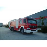Buy High Spraying Water Tanker Fire Truck With Mercedes Actros 3344 Chassis at wholesale prices