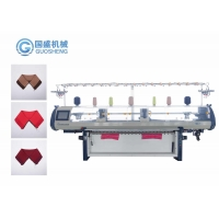 Quality Plain Collar Cuff Flat 12G Collar Knitting Machine Home Double Carriage for sale