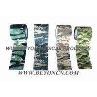 Quality Camouflage Cohesive Wrap Non Woven Bandage For Military Use Wrapping Rifles for sale