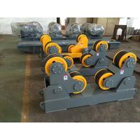 Quality Self Aligning Pipe Welding Rollers With 2 Sets 10T Positioner 1.5 KW Single Power for sale