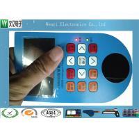 Side Light  LED  Backlit  Embossing keys  Membrane Switch with Polydome