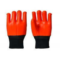 Quality Antisepsis PVC Hand Gloves , Cold Weather Work Gloves Excellent Slip Resistance for sale