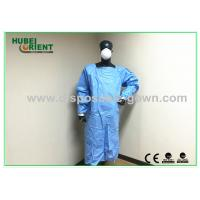 Quality Sterile Ultrasonic Disposable Surgical Gowns with Knitted Wrist for Operation for sale
