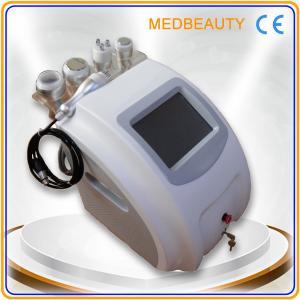 Quality 5 in 1 cavitation+tripolar rf+monopolar rf+vacuum body slimming&body shape machine with CE for sale