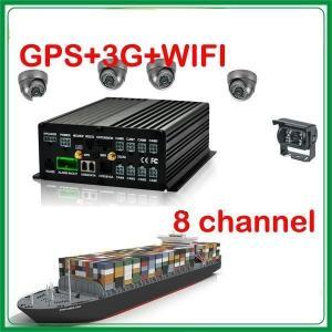 China 8 channel car dvr system support 8 cameras MDVR on sale