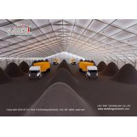 Quality Flame Retardant Coal Industrial Storage Tents With ABS Hard Wall for sale