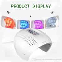 China PDT LED light therapy face mask red blue purple light treatment 3 colors LED face beauty equipment acne remover on sale