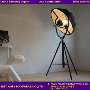 Quality Modern metal in matt black color floor lamp for sale