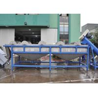 China 304 Stainless Steel Plastic Washing Line Easy Operation High Automatic Level For PE PP on sale