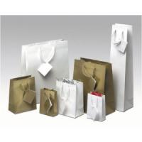 Quality Transfer Printing White Paper Custom Printing Gift Bags for Shopping for sale