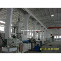 Buy OEM ODM Plastics Extruder Hdpe Pipe Extrusion Machine 16mm - 110mm at wholesale prices