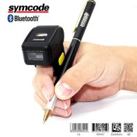 Auto Sense Bluetooth Ring Scanner / Finger Barcode Scanner Increase Efficiency
