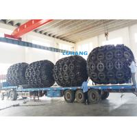 Quality Floating Ship Rubber Fender Synthetic Tyre Cord Layer With Safety Valve for sale