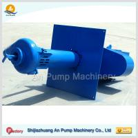 Quality vertical submersible coal washing slurry pump for sale