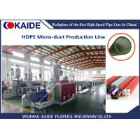 Quality 60m/min 8/5mm HDPE silicone microduct production line servo winding machine for sale