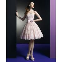 Quality Pink Lace Short dress Homecoming Cocktail Prom Dresses Graduation Prom Gowns for sale