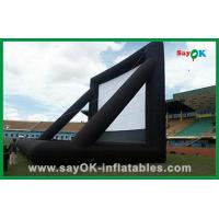 Quality Advertising Inflatable Movie Screen / Inflatable Tv Screen For Outdoor Party for sale
