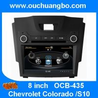 China Ouchangbo car DVD gps navi head unit Chevrolet Colorado S10 support DVR MPEG4 BT phonebook on sale