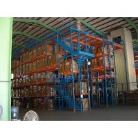 Quality Industrial Steel Mezzanine Floors Two Level Stair Warehouse System for sale