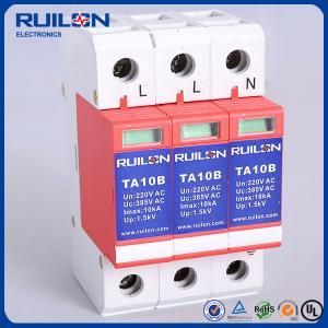 Quality Ruilon TA10B 10KA lightning Arrester surge protector for telecommunication centre for sale