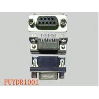 Quality Female Right Angle PCB D-sub Connectors With Nickel Shield Plating for sale