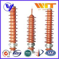 Quality 39KV - 51KV Electronic Substation Lightning Arrester with Polymer Housing for sale