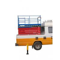 12 Meters Stationary Truck Mounted Scissor Lift with 500Kg Loading Capacity