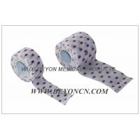 Quality Printed Cohesive Bandage Dot Design Custom Design Non Woven Material  For OEM for sale