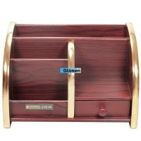 Quality OEM Professional Notebook Wooden Pen Holder  For Office and Home use for sale
