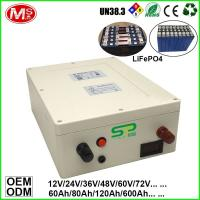 China Long lifespan and high quality marine battery from China lithium ion battery factory on sale