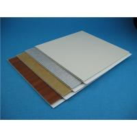 Quality Customized Colour Pvc Wall Cladding Panels For Construction , Quick Maintenance for sale