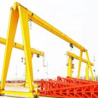 Quality Industrial Single Girder Gantry Crane Manual 20m / Min Fast Delivery for sale