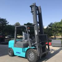 Quality 6m Lift Height Diesel Engine Forklift Truck 4 Ton Streamline Balance Weight for sale