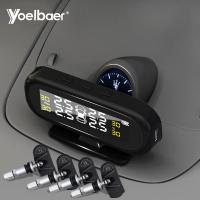 Buy cheap Factory Directly Sell Car TPMS USB Solar Power Tyre Pressure Monitoring System from wholesalers