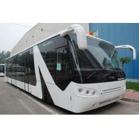Quality Large Capacity Low Carbon Alloy Aero Bus City Airport Shuttle equivalent to Cobus 2700 bus for sale