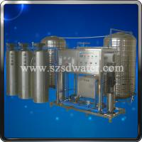 Quality Water Treatment Plants RO-1000J(2000L/H) with carbon filter quarts filter and water softener for sale