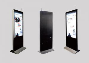 Quality Advertising Use 140mm Thickness 43 Inches Touch Screen Kiosk For 4S Shop for sale