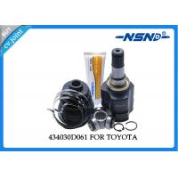 Buy cheap Toyota Auto Cv Joint 434030D061 Universal Dust Proof For Inner Position from wholesalers