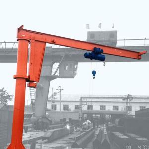 Quality Indoor Semi Gantry Crane / 20 Ton Single Beam Bridge Gantry Crane BMH Model for sale