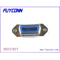Quality 14 Pin Centronic PCB Straight Angle Female Connector With Borad Lock for sale