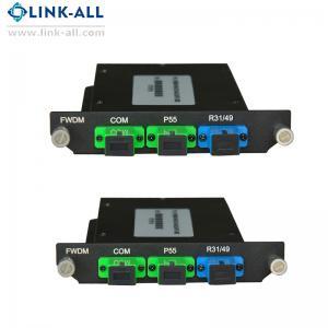 Quality Passive optical products CWDM module (Mux/Demux) Mini CWDM module for sale