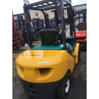 Buy cheap Gasoline Fuel Type Used Forklift Japan , Used Komatsu Forklift 3000kg Rated from wholesalers