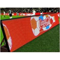 Quality Stadium Perimeter P10 Outdoor Led Screen , Advertising Led Display Screen Easy Setup for sale